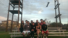 Ropes course, 2013