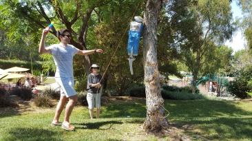 Summer BBQ Piñata Time, 2016
