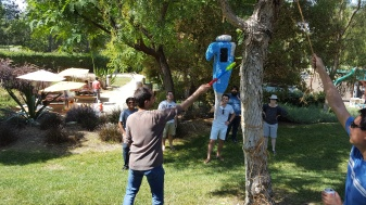 Summer BBQ Piñata Time 2, 2016