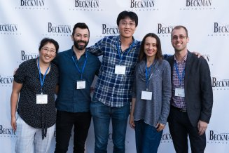Chang with some 2015 Beckman Young Investigators, 2018